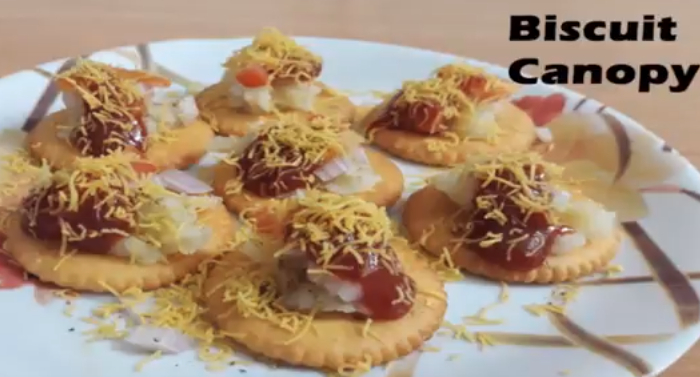 [Step By Step] 5 मिनट में बनाये मोनाको चाट! Monaco Biscuits Chaat Recipe in Hindi with Photo? Step 15