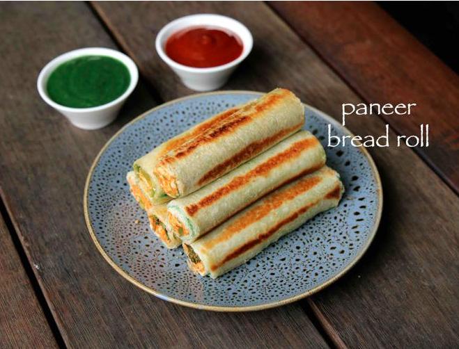 पनीर ब्रेड रोल कैसे बनाते है? Paneer Cheese Bread Roll Recipe in Hindi? Step-By-Step Photo  Step 25