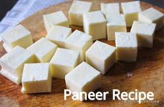 पनीर कैसे बनाते है? How to make Paneer at Home in Hindi? Step-By-Step Photo