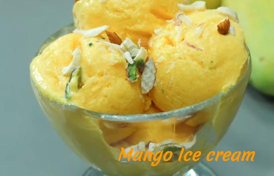 आम की आइसक्रीम कैसे बनाते है ? Mango Ice Cream Recipe in Hind with Photo? [Stwp By Step]  Step 21