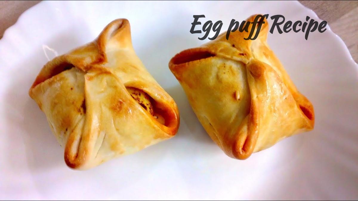 [Step by Step with Pics] एग पफ कैसे बनाते हैं? Easy Egg puff recipe in hindi Step 33