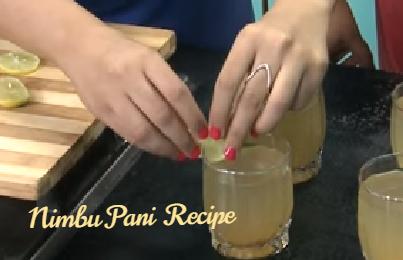 निम्बू पानी कैसे बनाते है? How to make Lemon Water in Hindi? Step-By-Step-Photo  Step 15